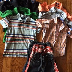 2 POLO shirts/2 IZOD shirts size 6